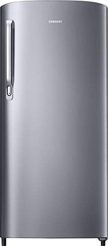 Samsung 192 L 2 Star Direct Cool Single Door Refrigerator (RR19T241BSE/NL, Elective Silver)