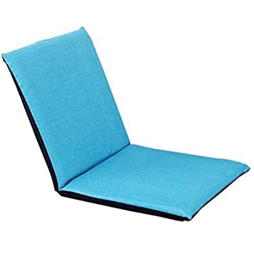 JJZXD Creativa sofá Perezoso, Individual Plegable Cojín de Cama, Silla reclinable, Silla de la computadora portátil, Sofá