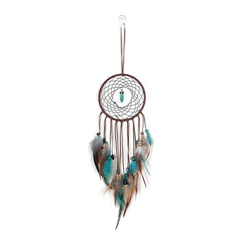 Teenage Dream Net Lampe Handgefertigt Dream Catcher Windspiele Dreamcatcher Net Mit Feder Perle Wandbehang Dekoration Indoor Ornament Craft Geschenke