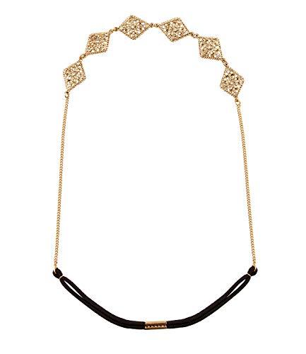 SIX Haarschmuck [Damen Haarkette] - Premium Kopfschmuck » orientalischen Verzierungen « Beliebter Frauen Schmuck - Stylische Kette – Sommeroutfit - Haarteil im Ethnostyle - Karneval (456-704)