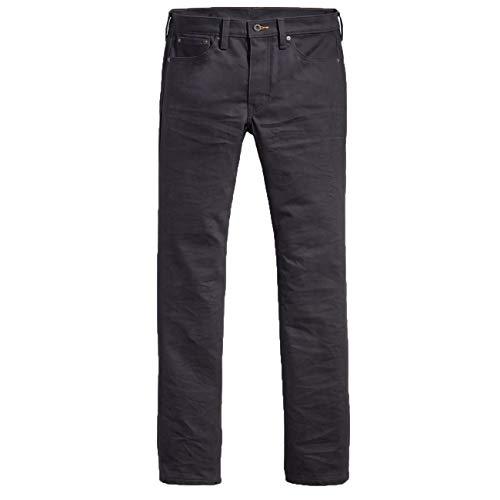 Levi's 511 Slim Fit Vaqueros, Caviar Black, 36W / 32L para Hombre