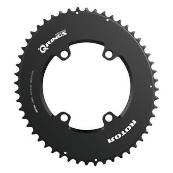 R ROTOR BIKE COMPONENTS Aero Q Ring BCD110x4 50T(34) Outer BK