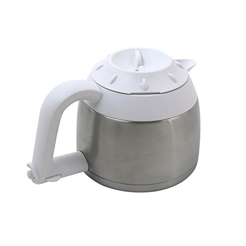 Iconikal Stainless Steel Thermal Carafe With Spout In Handle