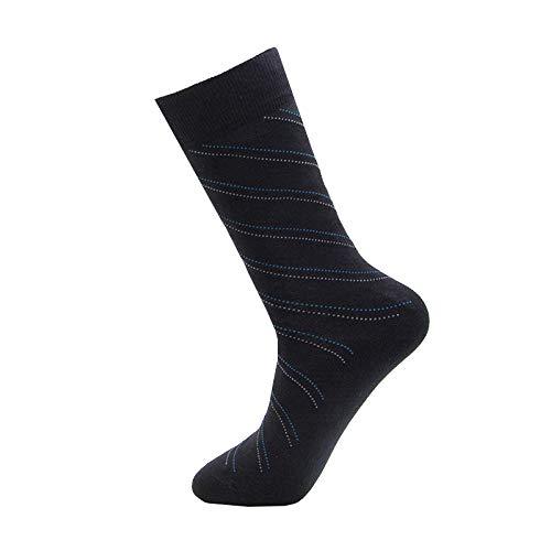 Comfortabel ademend comfort mannen kousen zakelijke casual high-tube zweetabsorberende en deodorant werk duurzaam slijtvast mannen katoen sokken 1 paar stijl A