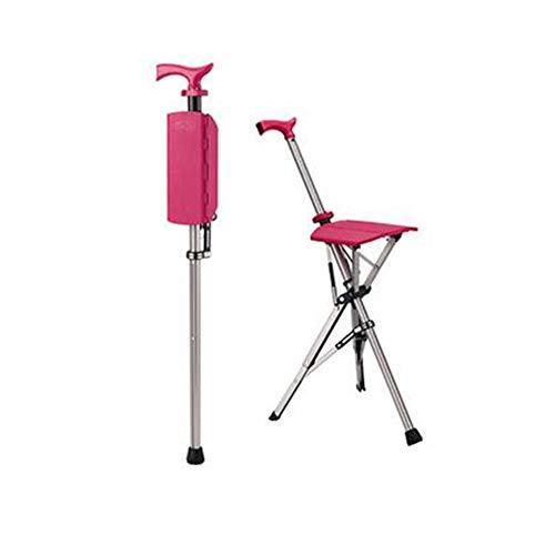 silla plegable automatica en baston