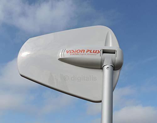 Vision Plus Status 570 Directional TV and Radio Antenna - White, 330 mm