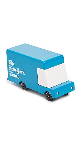 Candylab Toys Men's New York TImes Delivery Van, Blue, One Size