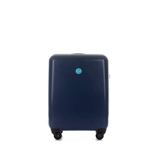 Trolley Gabs misura bagaglio a mano 4 ruote G CARRY-E19 S G003110T1/X0730 col BLU SCURO C3005 chiusura TSA coprivaligia incluso