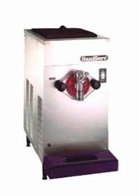 SaniServ 707 Counter Model Air Cooled Frozen Cocktail/Beverage Freezer with (1) Head, 20 Quart Capac