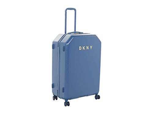 DKNY 28' Metal Logo Hardside Upright Colonial Blue One Size