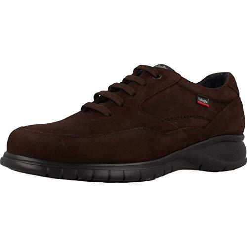 CALLAGHAN 12702 Zapato Deportivo Nobuck Hombre Marron 40