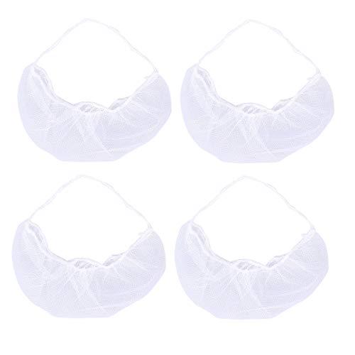 HEALIFTY Einweg-Bartabdeckung für Bart, Gesundheitsschutz, 100 Stück (weiß)