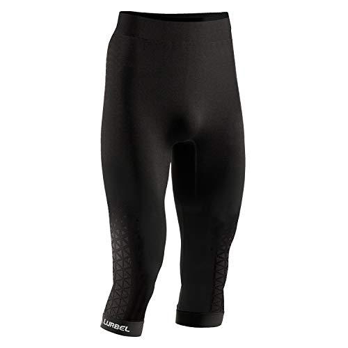 Lurbel Spirit Pants 3/4, Mallas Piratas, Mallas Trail Running, Mallas de Correr, Mallas Transpirables, Mallas Deportivas, (Marengo, Mediana - M)
