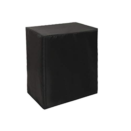 AWSAD Cubiertas de Muebles de Patio de jardín de Tela Oxford Jardín 210D, a Prueba de Polvo al Aire Libre para Cubos de Patio Cubiertas de Muebles (Color : Negro, Size : 70X70X100cm)