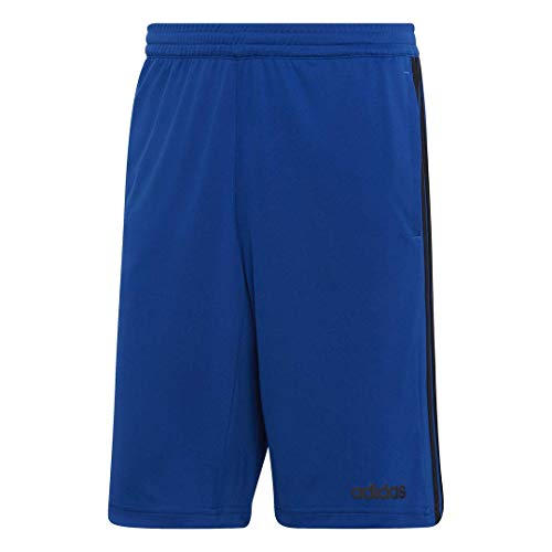 adidas Men's Design 2 Move Climacool 3-Stripes Training Shorts, Collegiate Royal/Black, Medium