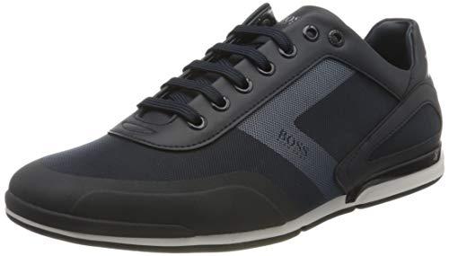 BOSS Herren Saturn_Lowp_act5 Sneaker, Dark Blue401, 43 EU