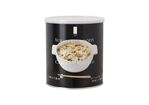 サバイバルフーズ 洋風とり雑炊 408g入り1缶10食相当品 380g