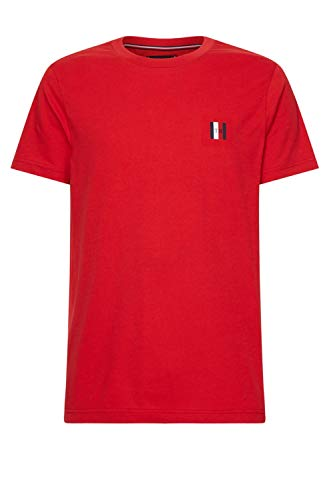 Tommy Hilfiger Modern Essential Tee T-Shirt de Sport, Rouge, X-Large (Taille Fabricant:) Homme