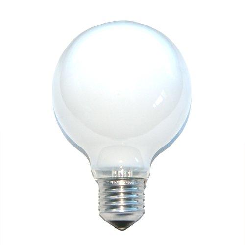 1 x Globe Glühbirne 100W E27 OPAL G80 80mm Globelampe 100Watt Glühlampe Glühbirnen Glühlampen