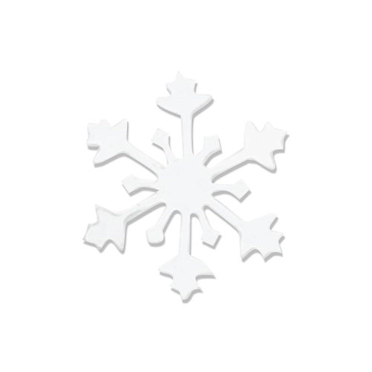 タフボイラー流リトルプリティー ネイルアートパーツ スノークリスタル S ホワイト 10個