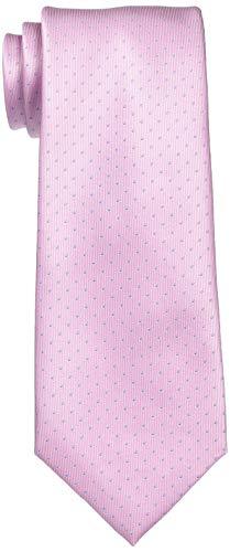 [フェアファクス] ネクタイ DOT05-18 メンズ ピンク 日本 F (FREE サイズ)