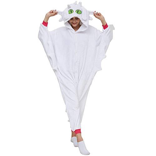 N-B Divertido Pijama De Dragn Sin Dientes, Mono De Una Pieza, Disfraz De Carnaval De Animales