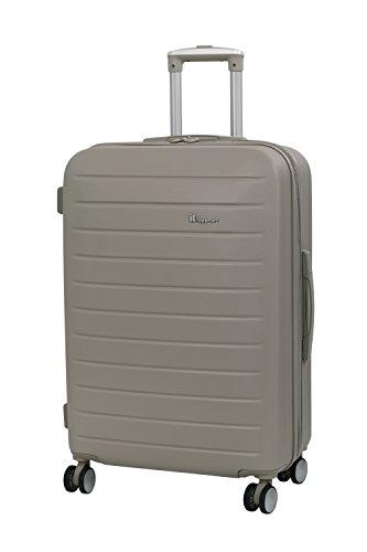 it luggage Legion 8 Wheel Medium Spinner Expandable Hard Case Maleta, 71 cm, 110 Liters, Beige (Cobblestone)
