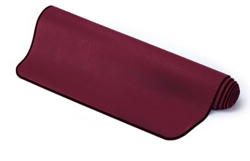 Sissel 200040, Tappetino Yoga Unisex – Adulto, Bordo, 180 x 60 x 0.6 cm
