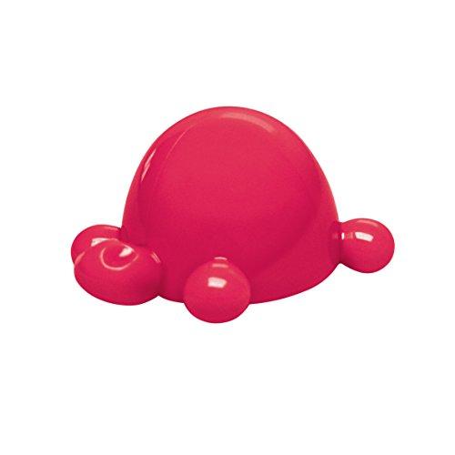 Koziol 3718583 Drehverschlussöffner Arnold Flaschenöffner, Kunststoff, Solid Raspberry Rot, 7,5 x 6 x 4,5 cm, 1 Einheiten