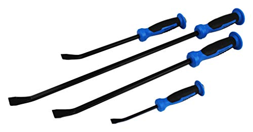ION TOOL Pry Bar 4 Piece Set, 8-24 inch with Hammer Top