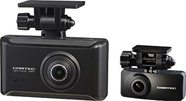 コムテック 前後2カメラ ドライブレコーダー ZDR025 前後200万画素 Full HD ノイズ対策済 夜間画像補正 SONY製CMOSセンサー搭載 LED信号対応 専用microSD(32GB)付 1年保証 Gセンサー GPS...