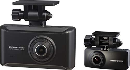 コムテック 前後2カメラ ドライブレコーダー ZDR025 前後200万画素 Full HD ノイズ対策済 夜間画像補正 SON...