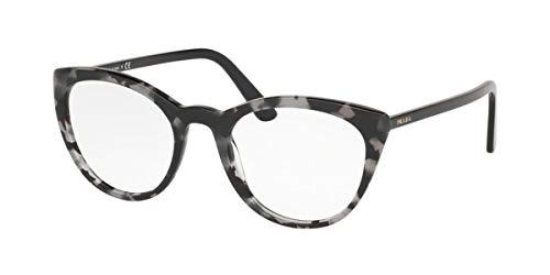 Prada 0PR 07VV Monturas de gafas, Grey Havana, 51 para Mujer