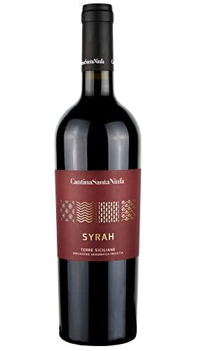 Vino Rosso Syrah I Terre Siciliane IGP I Premium Collection I Tannico e Persistente I Con Profumi di spezie e cioccolato