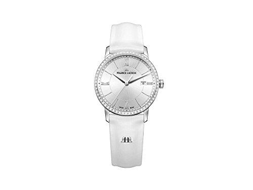 Maurice Lacroix Eliros EL1094-SD501-110-1 dameshorloge met echte diamanten