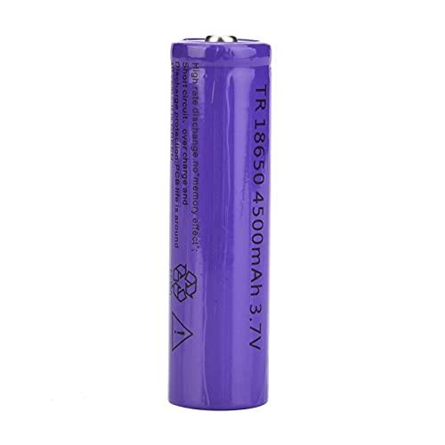 Batterie de lampe de poche, batterie rechargeable de 3,7 V Portable pour lampe de poche 18650