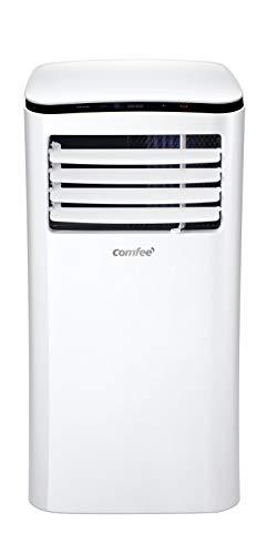 Comfee Mobiles Klimagerät Eco Friendly Lite, 3-in-1 Klimaanlage mit Abluftschlauch, Kühlen&Entfeuchten&Ventilieren, 7000 BTU, 2.0kW, für Räume ca. 68m³(25㎡), EEK A+