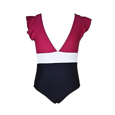 Loncoco Girl's Bikini Set One-Pieces Swimwe...