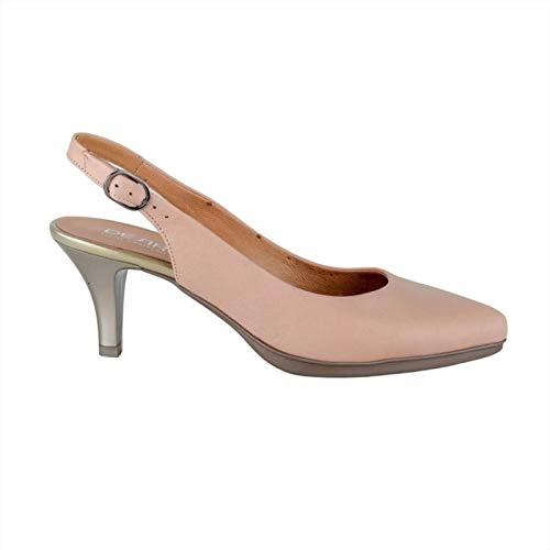 Zapatos Tacon DESIREE 591062 Total Flex Piel Suede