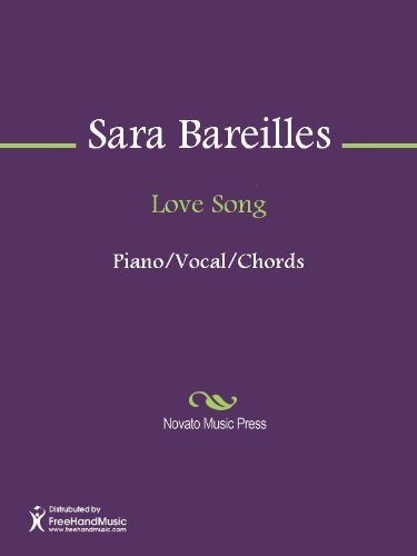 Love Song Sheet Music (English Edition)