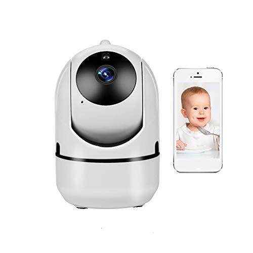 SJTL Vigilabebés Inalambrico con cámara, Baby Monitor con Cámara Video Baby Monitor 1080P Inalámbrico Pantalla Digital Pulgadas, Bebés Digital Audio Bidireccional