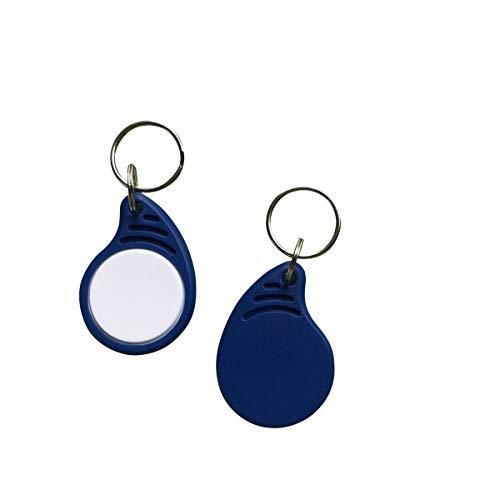 YARONGTECH New Style Eintrag Zugang 13.56MHz Smart IC MIFARE Classic® 1K RFID-Schlüsselanhänger Tag (100 Stück)