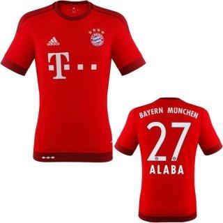 Trikot Adidas FC Bayern 2015-2016 Home - Alaba [Größe XXXL]