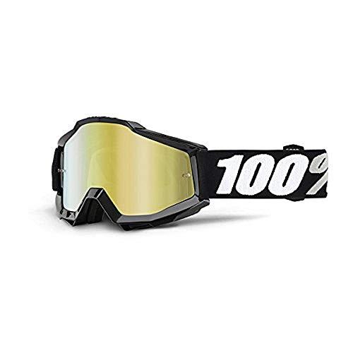 100% 50210-059-02 Accuri Brille Tornado - Spiegel Linse, Gold, Größe One Size