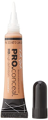 L.A. Girl Pro Conceal HD Concealer, Almond, 0.28 Ounce