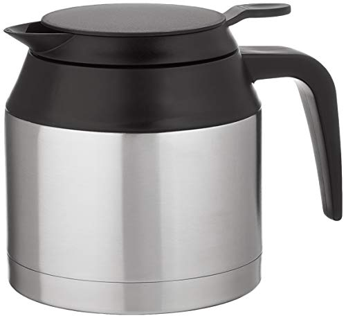 Bonavita 5-cup Thermal Coffee Maker Replacement Carafe, Silver/Black