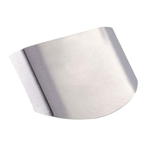ADRES Finger Guard Chopping, 2PCS Edelstahl Finger Guard Küchenwerkzeug zum Schutz Ihrer Finger vor dem Schneiden von Hacken und Anderen Messerschneidverletzungen