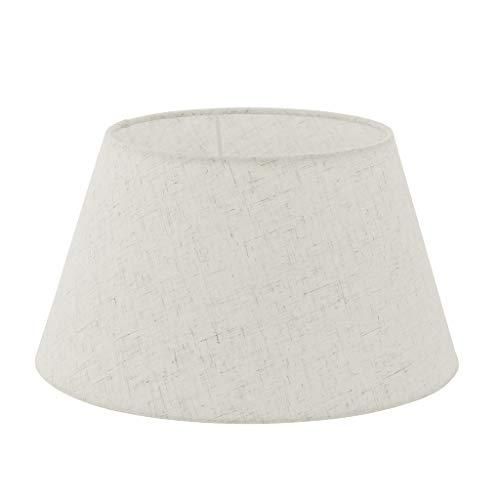 EGLO Lampenschirm 1+1 Vintage, Ø 30 cm, E27-E14, creme | 49968