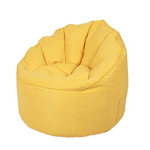 TLTLLRSF Shell Bean Bag, Canapé Lazy Couch Creative Casual Petit Appartement Tissu Canapé Paresseux Canapé Inclinable - Multicolore En Option (Couleur : B)