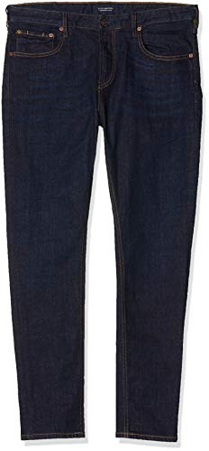 Scotch & Soda Skim Jean Droit, Bleu (Touch It Up 1395), W31/L34 Homme